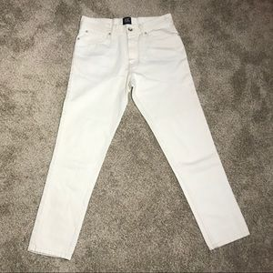 BDG White Dad Fit Jeans